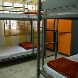 A 4-bed Dorm