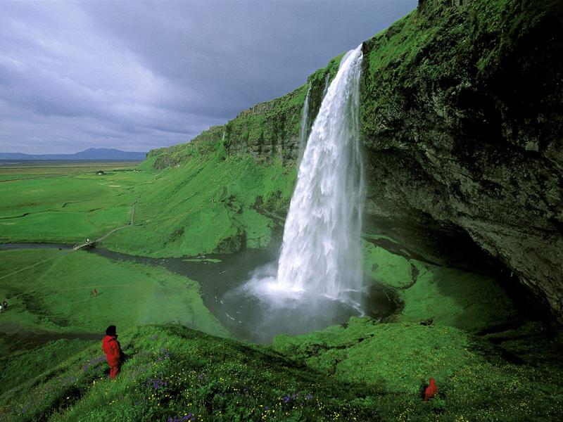 Iceland Seljalandsfoss Falls